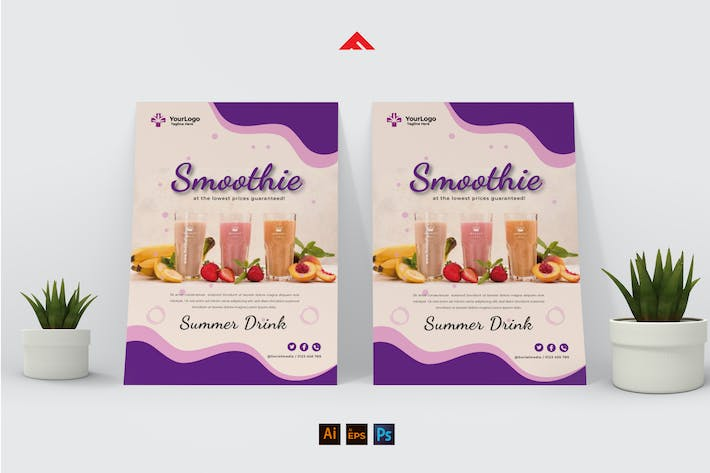 Smoothie Flyer