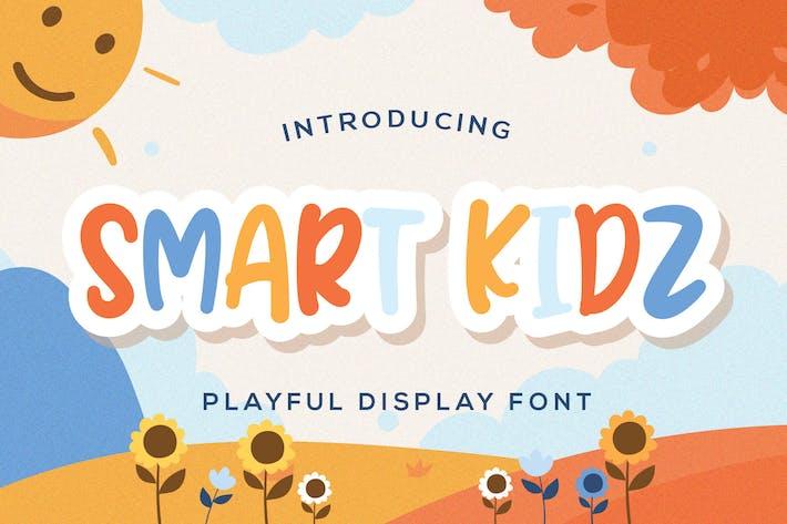 Thumbnail for Smart Kidz - Fuente de visualización lúdica