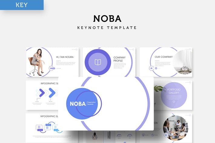 Thumbnail for Noba - Keynote Template