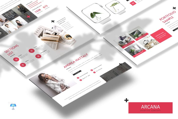 Thumbnail for Arcana - Business Keynote Template