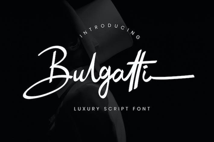 Thumbnail for Bulgatti Luxury Script Cover case Negro