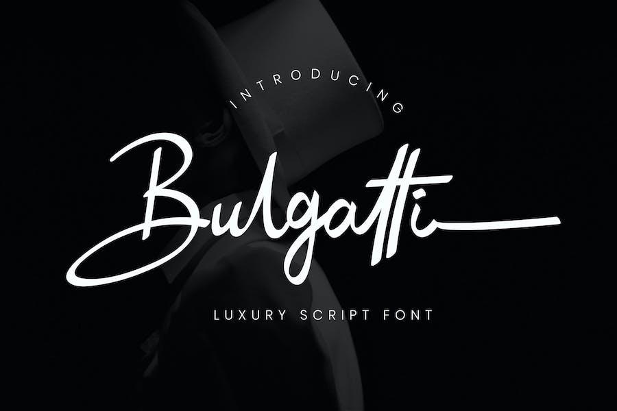 Bulgatti Luxury Business Font