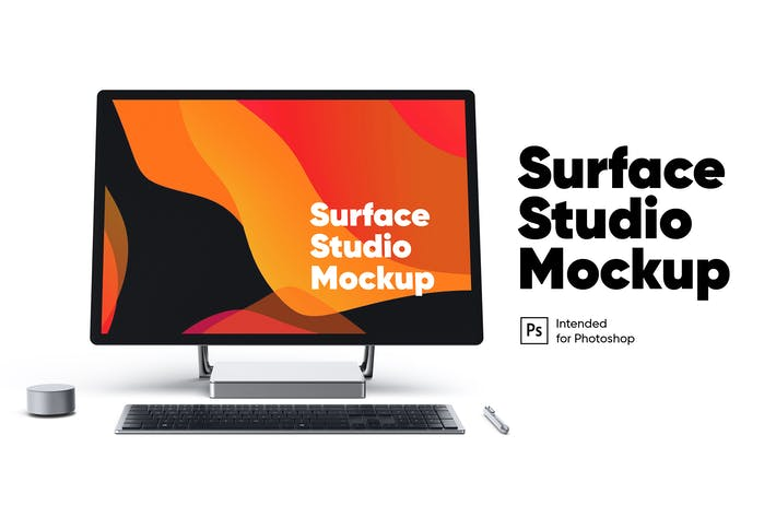 Thumbnail for Surface Studio Front view Mockup