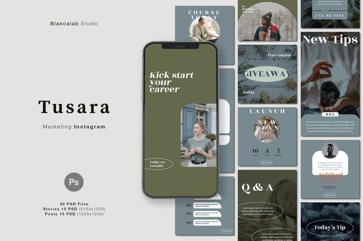 TUSARA Instagram Posts & Stories