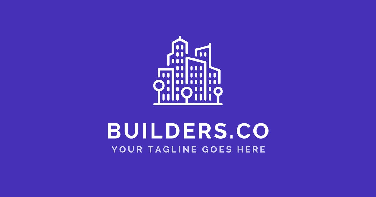 Download Builders Co - Construction Company Logo Template by ThemeWisdom