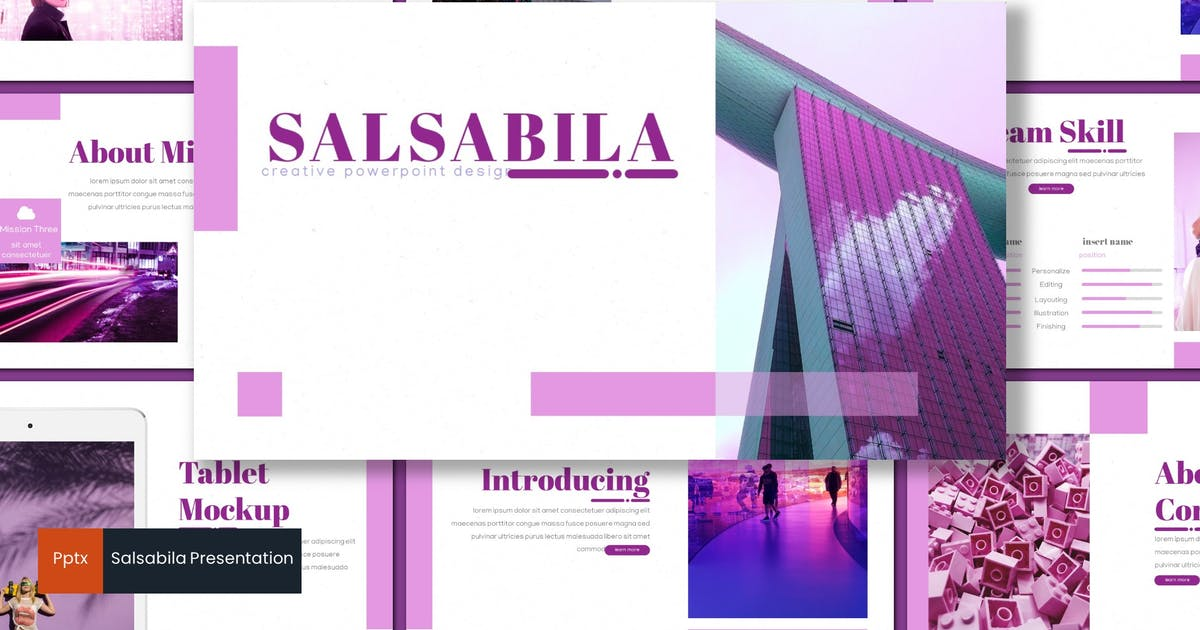 Download Salsabila - Powerpoint Template by inspirasign