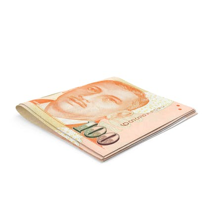 Small folded Stack of Singapore Dollar Banknote Bills
