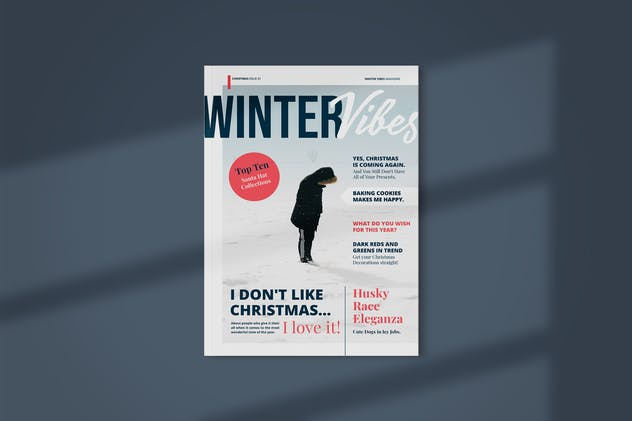 Magazine Template | Winter Vibes