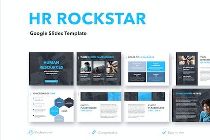 HR Rockstar Google Slides Template