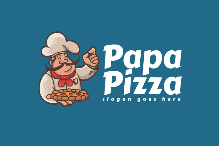 Thumbnail for Pizza Logo Template
