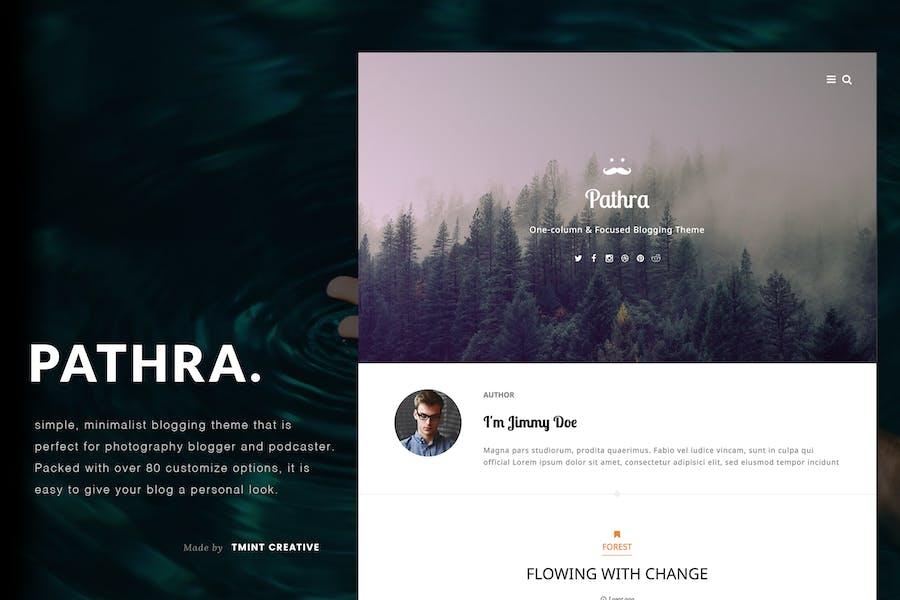 Pathra Tumblr Theme