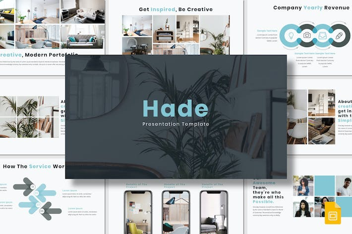 Thumbnail for Hade - Google Slides Template