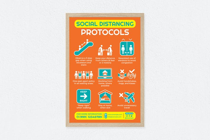 Thumbnail for Social Distancing Protocols Poster