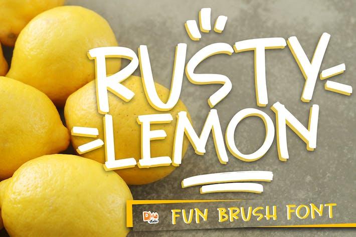 Thumbnail for Citron rouillé
