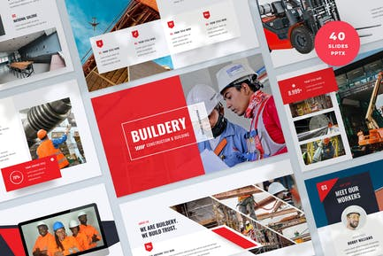 Construction and Building PowerPoint Template