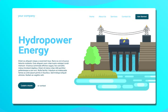 Thumbnail for Hydroelectric Power Plant - Landing Page
