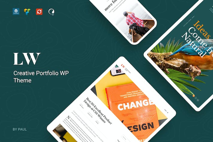 Thumbnail for Lewis - Creative Portfolio WordPress Theme