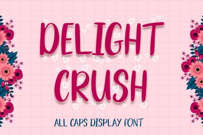 Thumbnail for Delight Crush - Display Font