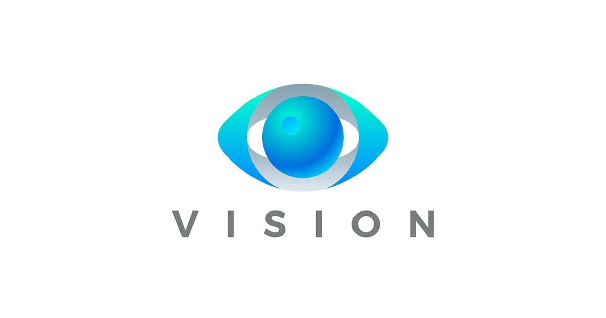 Download Logo Eye Vision Vector 3D design style by Sentavio