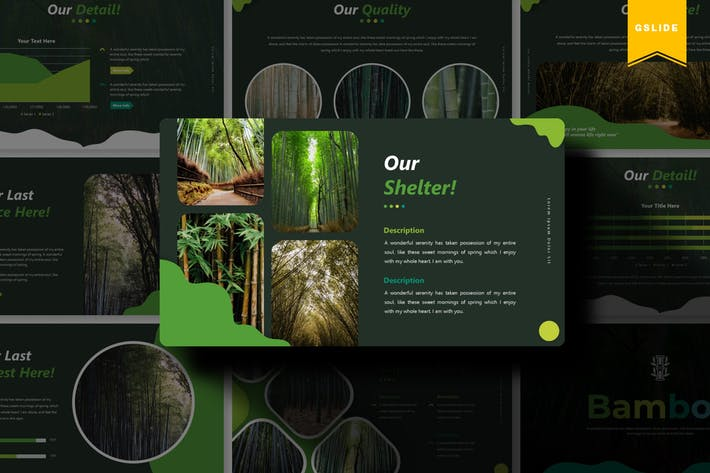 Cover Image For Bamboo | Google Slides Template