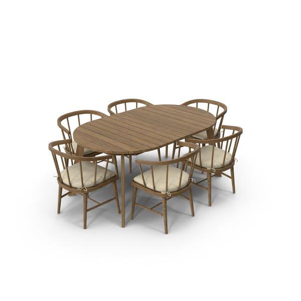 Patio Dining Table Round
