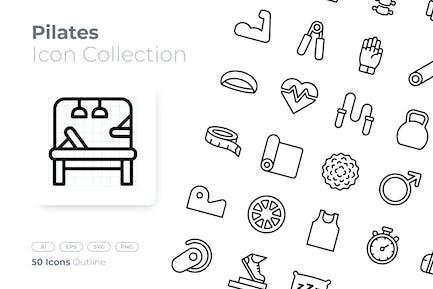 Pilates Outline Icon