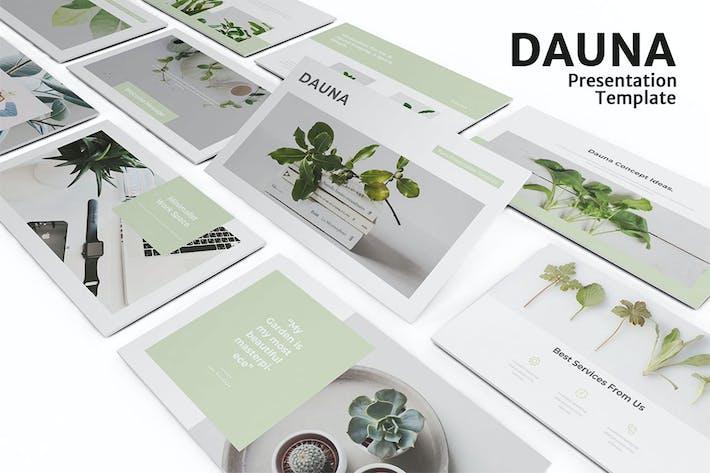 Thumbnail for Dauna - Minimalist PowerPoint Presentation