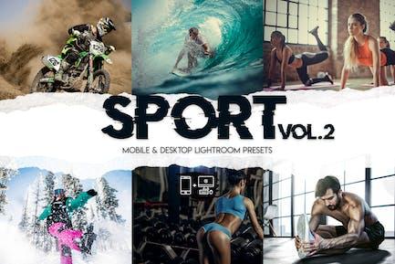 Sport Vol. 2 - 15 Premium Lightroom Presets