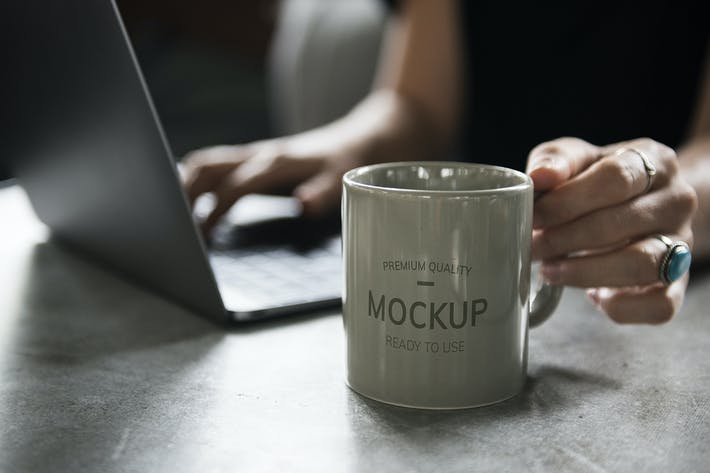 Thumbnail for Coffee mug mockup