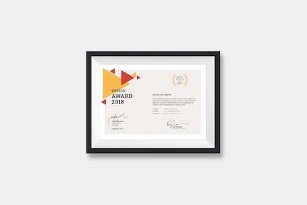 Certificats Paysage