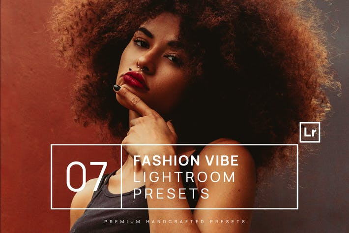 Thumbnail for 7 Fashion Vibe Lightroom Presets + Mobile