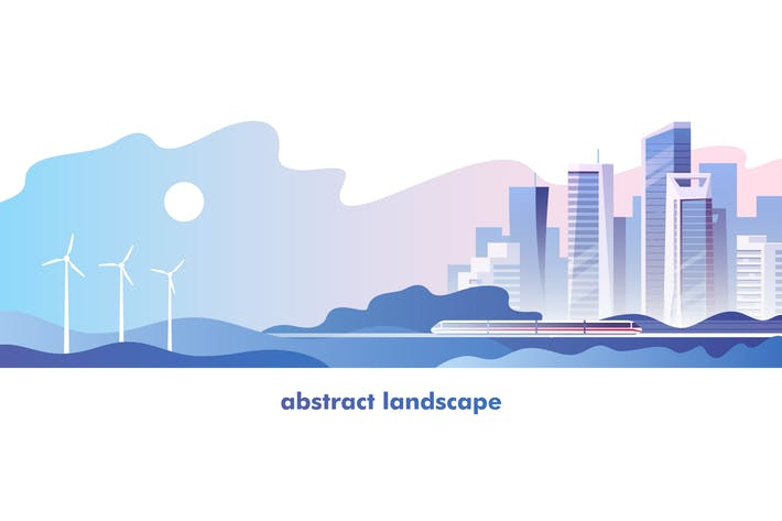 Thumbnail for Abstract Urban Landscape