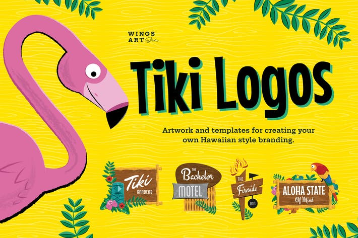 Thumbnail for Tiki Logo Design Kit