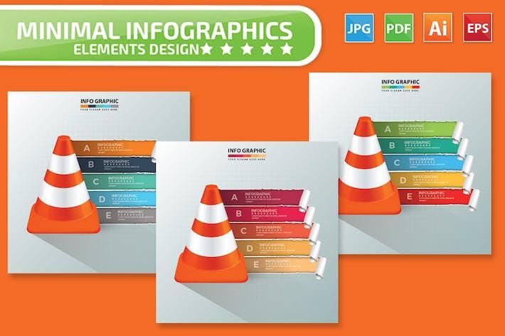 Cover Image For Minimal Kegel Infografiken Design