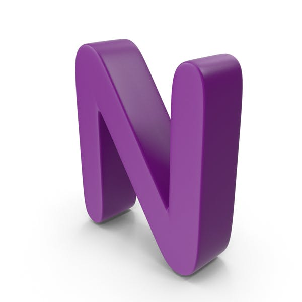 Thumbnail for Purple Letter N