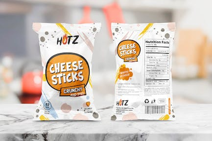Snack Packaging Templates