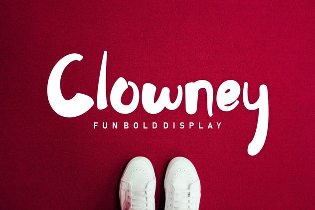 Clowney - Fun Bold Display - product preview 7