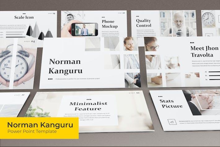 Thumbnail for Norman Kanguru - Plantilla Powerpoint