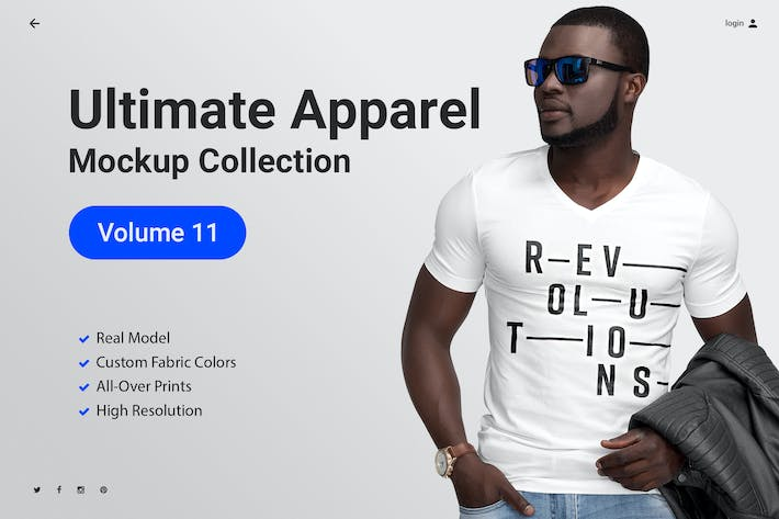 Thumbnail for Ultimate Apparel Mockup Vol. 11