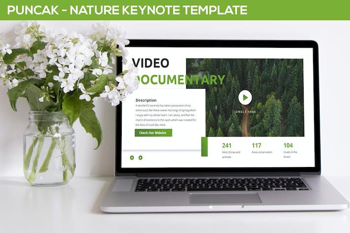 Thumbnail for Puncak - Nature Keynote Template