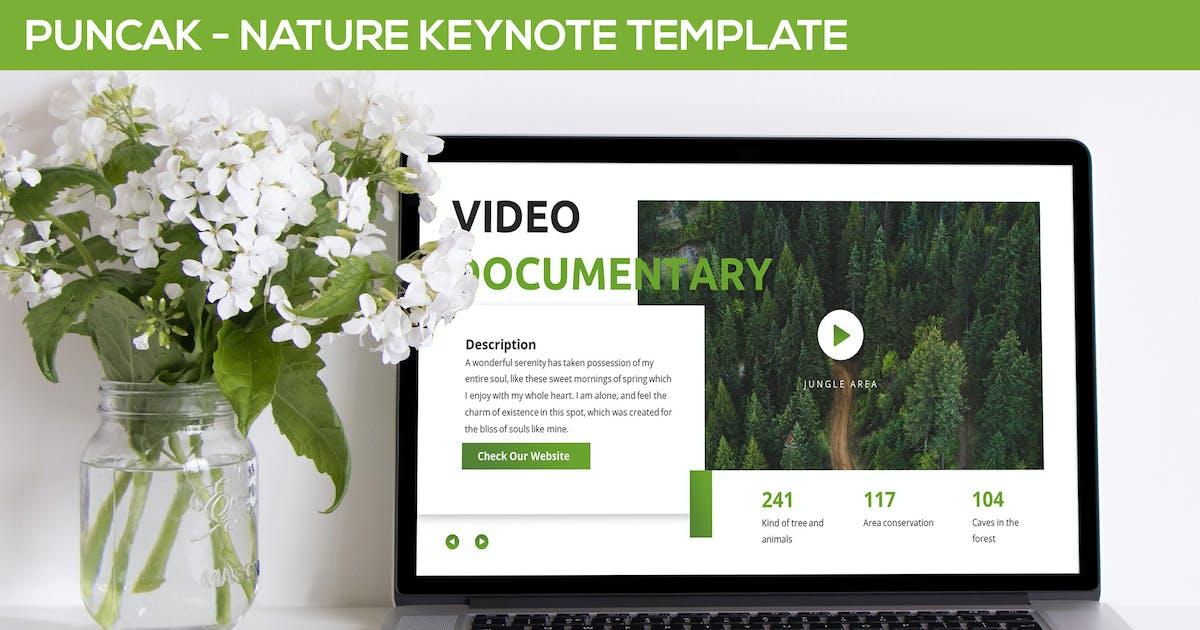 Download Puncak - Nature Keynote Template by SlideFactory