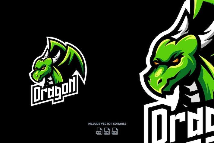 Thumbnail for Dragon E-Sport Logo Design