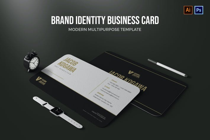 Thumbnail for Brand Identity - Business Card