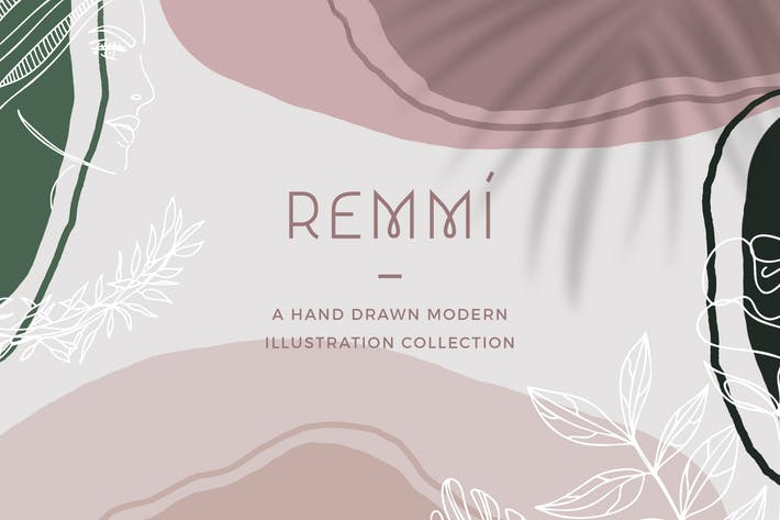 Thumbnail for Remmí - Hand Drawn Modern Graphics