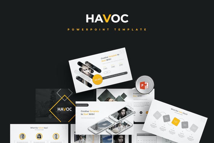 Thumbnail for Havoc - Powerpoint Template