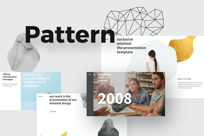 Thumbnail for PATTERN Keynote Template