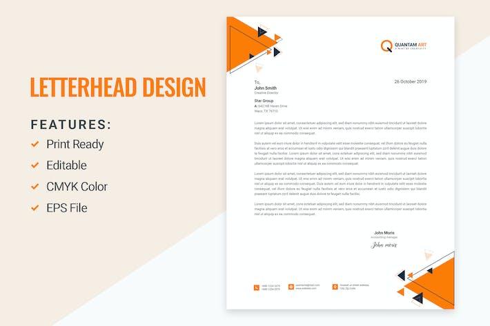 Thumbnail for Letterhead Design