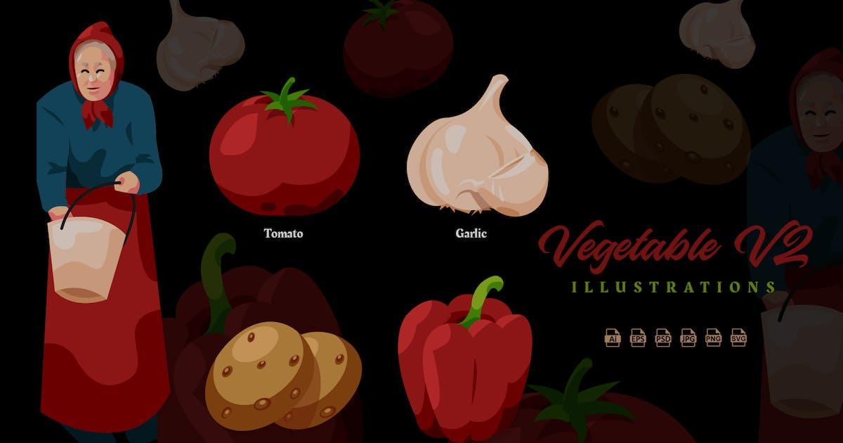 Download Vegetable V2 - Illustrations by ilhamtaro