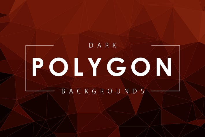 Dark Polygon Backgrounds
