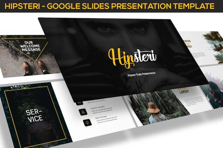 Thumbnail for Hipsteri - Hipster Стиль Google Слайды